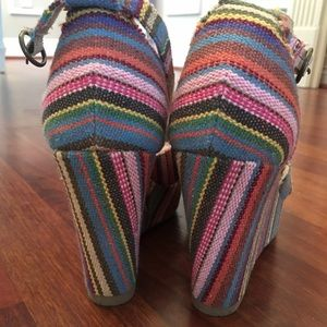Rocket dog Rainbow Wedges
